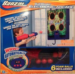 Manley's Ball Blaster Hanging Electric Arcade Game