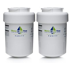 2 X WLF-GE01 / GE MWF, MWF water filter, GE mwf filter - Replacement Filter for GE MWF, MWFA, GWF, GWFA, GWF01, 46-9991, 46-9996, 469991, 469996, Amana