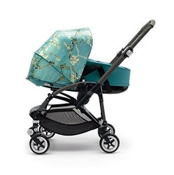 Bugaboo Bee3 Bassinet Tailored Fabric Set - Van Gogh & Petrol Blue
