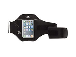 Griffin GB36062 MiCoach Adidas Armband for iPhone 5 and iPod Touch 5 - Retail Packaging - Black