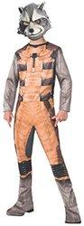 Rubies Guardians of The Galaxy Rocket Raccoon Costume, Child Medium