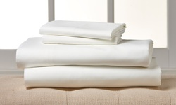 Amrapur Overseas Wexley Home Microfiber Sheets Set - White - Size: Twin