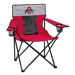 NCAA Ohio State Buckeyes Elite Chair, Adult, Red 407210