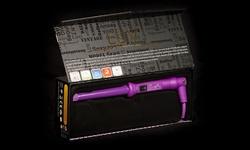 Luv Tourmaline Ltd Editi on Reverse Hair Curler - Purple - Size: 18-25mm