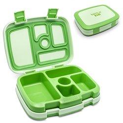 Bentgo Leak-Proof Bento Styled Children's Lunch Box - Green