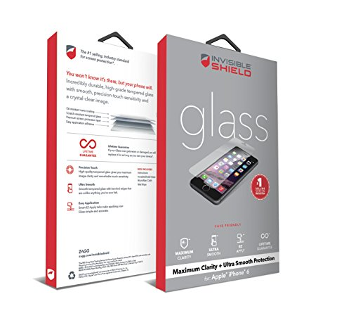Zagg Invisibleshield Glass Screen Protector For Apple Iphone 6