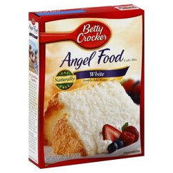Betty Crocker Cake Mix Angel Food 6 Packs - White - Size: 16Oz