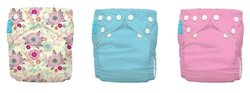 Charlie Banana 2 in 1 Reusable Diapering System - Peony Blossom