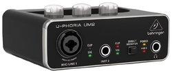 Behringer UPHORIA UM2 Audiophile 2x2 USB Audio Interface