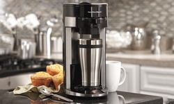 Hamilton Beach FlexBrew Single-Serve Coffeemaker - Black (49999A)