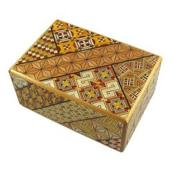 Japanese Puzzle Box, 4 Sun 21 Steps