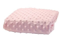 Rumble Tuff Minky Dot Changing Pad Cover, Pink,Standard