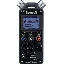 Olympus 4GB Linear PCM Stereo Directional Portable Digital Voice Recorder with MP3 Recording Formats and Long...