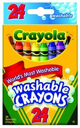 Crayola Washable Crayons - 24 count (52-6924)