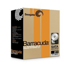 "Seagate Barracuda 2TB Internal 3.5"" SATA Hard Drive"