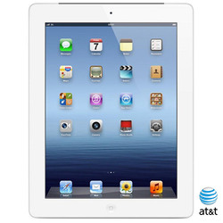 "Apple iPad 3 A1430 9.7"" Tablet 16GB Wi-Fi + Cellular - Silver (A1430)"