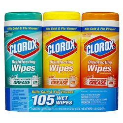 Clorox 3x35ct Wipes Dis Bts
