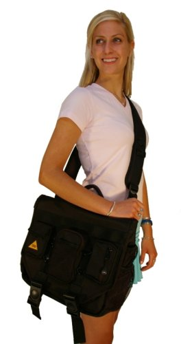 Bumbakpak Hamptons Hybrid Messenger Backpack Laptop Bag Obsidian Medium Black Check Back Soon Blinq