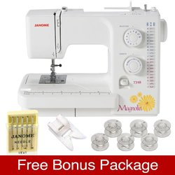Janome? Magnolia Sewing Machine, Model 7318
