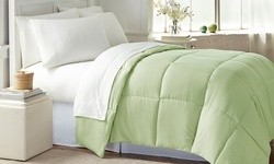 Wexley Home Down Alternative Comforter - Sage - Size:King