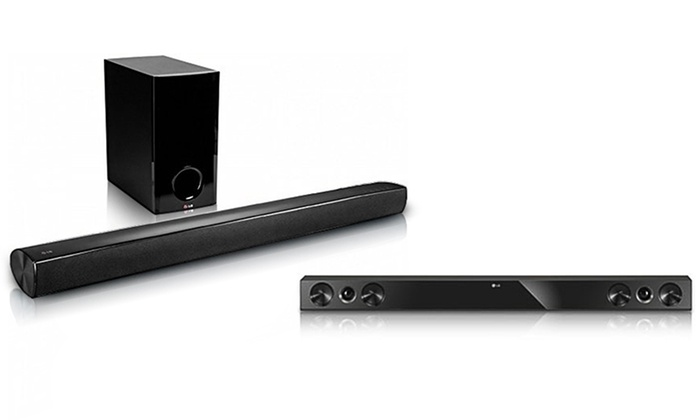 Lg Sound Bar Audio System With Bluetooth Connectivity Nb2420a
