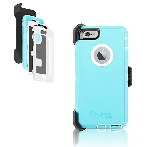 the latest 25d70 a0042 OtterBox Defender Series Case for Apple iPhone 6 - Light Teal/White ...