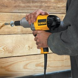 "DeWalt 1/2"" (13 mm) Impact Wrench with Detent Pin Anvil"