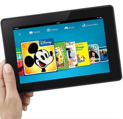 "Amazon Kindle Fire HD 7"" Tablet 8GB Fire OS Wi-Fi - Black (53-000780)"