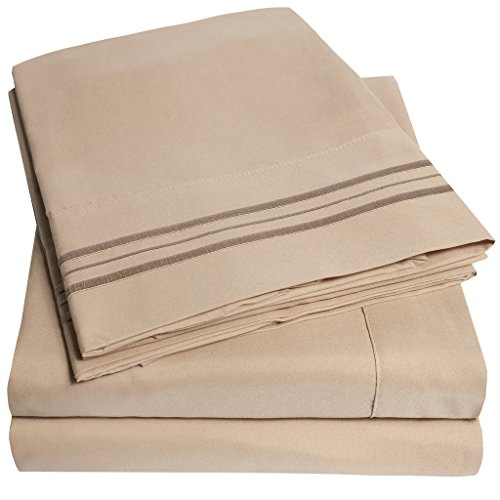 1500 Thread Count Supreme Collection 3pc Bed Sheet Set