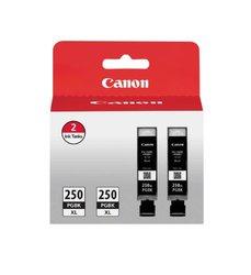 Canon PGI-250XL Ink Cartridges (6432B004) High Yield 2/Pack black