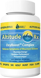 Altitude Rx Oxyboost Complex for Mountain Sickness - 120 Caps