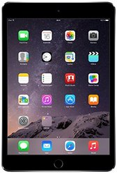 "Apple iPad Mini 3 7.9"" Tablet 16GB WiFi + 4G - Space Gray (MH3E2LL/A)"