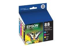 Epson 88 Series DURABrite Ultra Color Ink Cartridges - Multi (T088120-BCS)