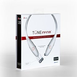 LG Tone Infinim Wireless Stereo Headset - Silver (HBS-900)