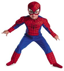 Spiderman Toddler Size: 2T (Red/Blue)