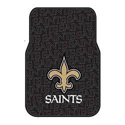 NFL New Orleans Saints Front Floor Mat