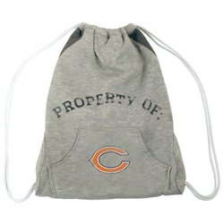 NFL Chicago Bears Hoodie Cinch Bag - Grey