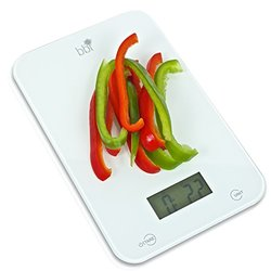 Food Scale-bbi Professional Digital Kitchen Scale-Accurately Measures Grams, Ounces, & Fluid Ounces for Precise Baking, Cooking and Portion Control-Free Measurement Cheat Sheet Included