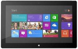Microsoft Surface Pro 1 Tablet 128 GB Hard Drive 4 GB RAM Dual-Core I5