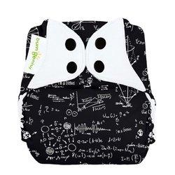 Bumgenius Freetime All in One Cloth Diaper - Black
