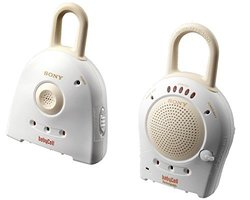 Sony Nursery Rechargeable Baby Call Monitor - White (NTM910YLW-WHT)