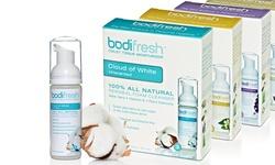 JMN Bodifresh All Natural Cleansing Foam Toilet Tissue Moisturizer - 3PK