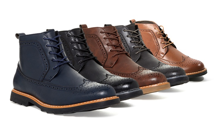 Giraldi Milan Men's Oxford Boots - Black - Size:9.5 - Check Back Soon -  BLINQ