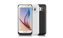 iPM Samsung Galaxy S6 Edge 3,800mAh Power Charger Case - White