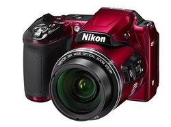 Nikon COOLPIX L840 16MP Digital Camera - 38x Optical Zoom - Red