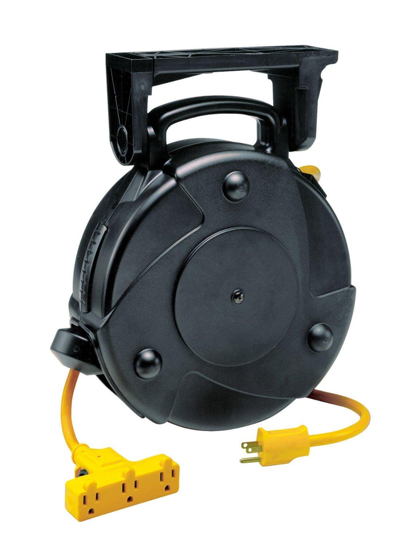 prolite industrial retractable extension cord reel 8040t p check rh blinq com