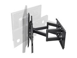 "Monoprice Full-Motion Wall Mount Bracket for 32""- 60"" Flat Screen TV (LCD, Plasma, LED) - VESA Mount"