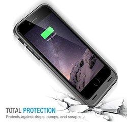 uNu DX Battery Case iPhone 6 - Black (3,000mAh)