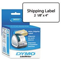 Dymo LW Shipping Labels 1 roll of 220 - White - Size: 2-1/8'' x 4''
