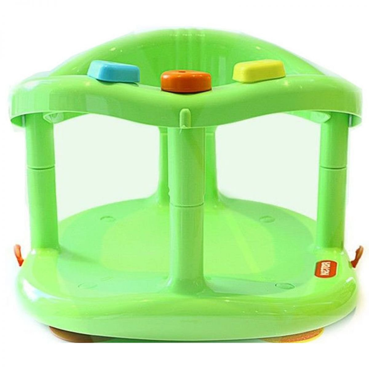 Keter Baby Bath Tub Ring Seat Anti Slip Chair Bathtub Tub - Green ...
